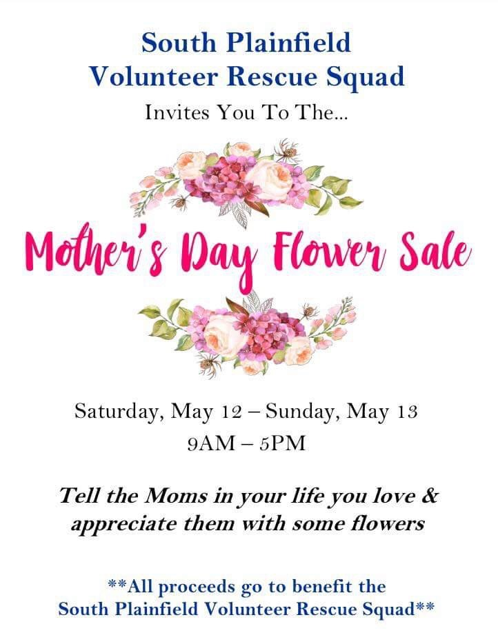 Mother's Day Flower Sale!! — May 12th & 13th